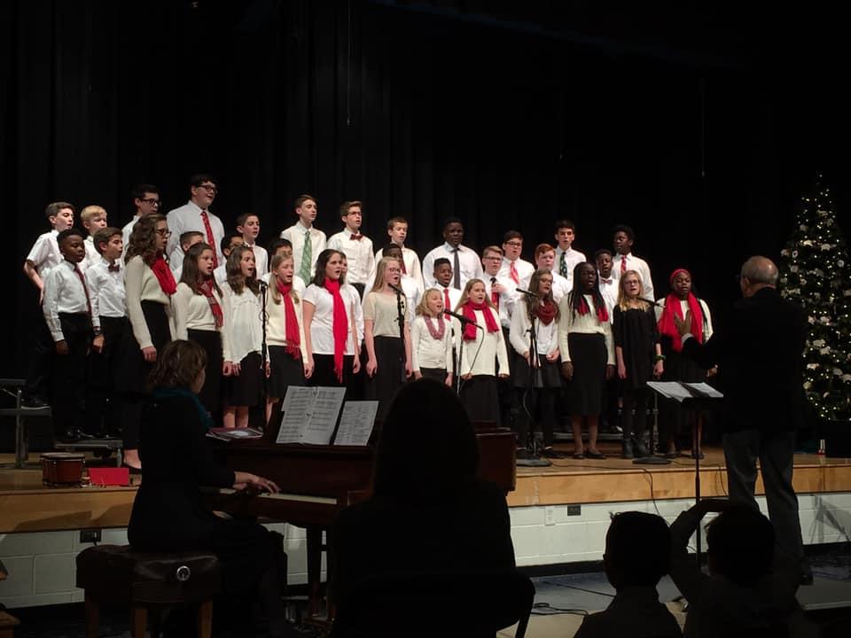 Elementary Christmas concert