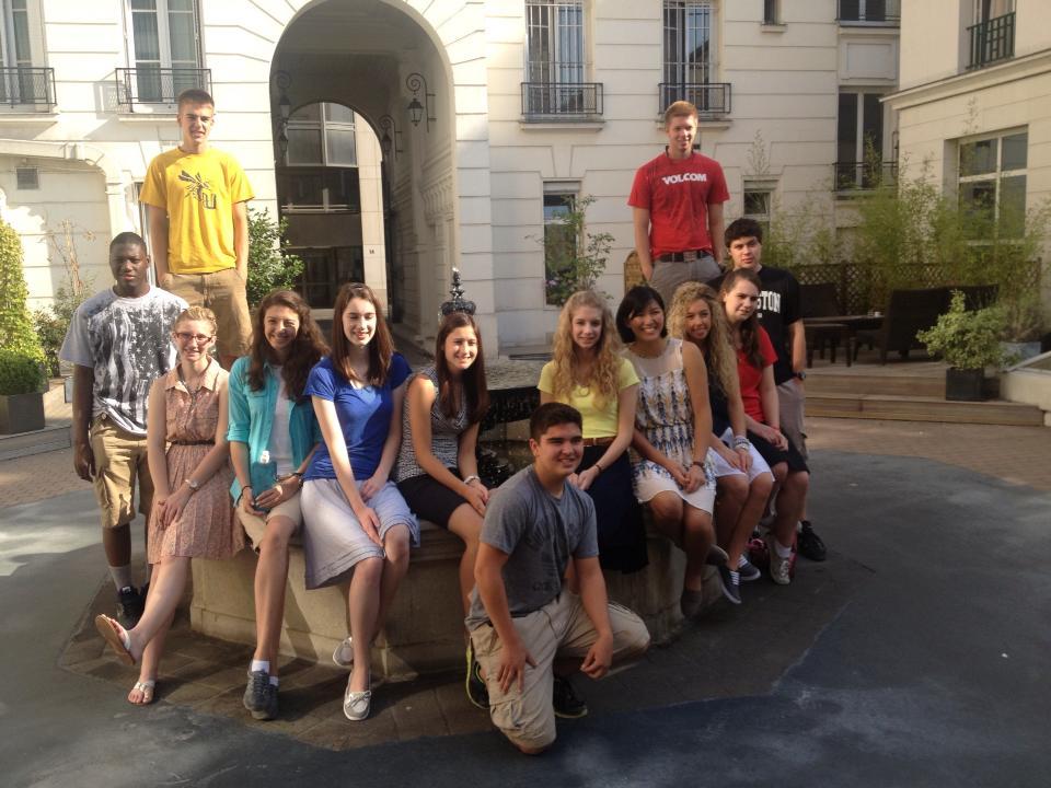 High School Europe Trip