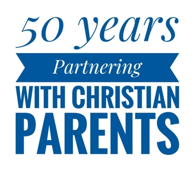50 years partnering with Christian parents